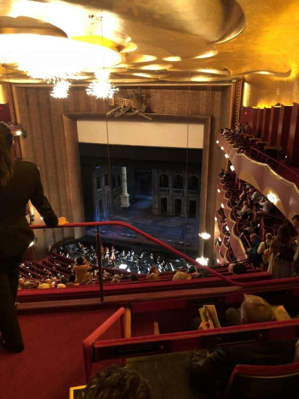 Metropolitan Opera House - Lincoln Center, section: Family Circle, row: C, seat: 2
