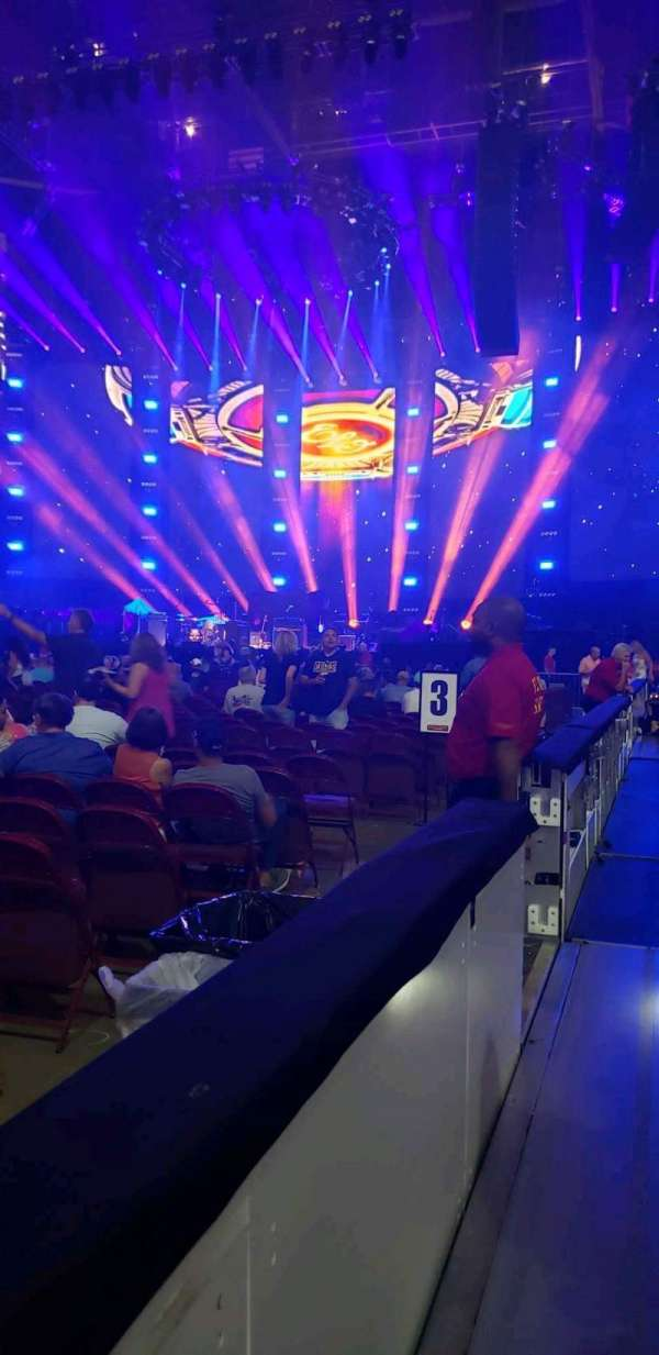 Wells Fargo Center, section: 112, row: 1, seat: 12