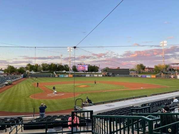 Scottsdale Stadium, section: 204, row: O, seat: 8