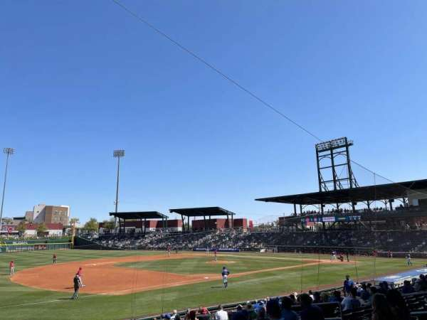 Sloan Park, section: 105, row: 19, seat: 6