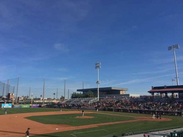 Scottsdale Stadium, section: 213, row: M, seat: 9