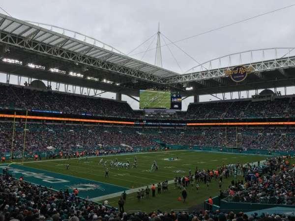 Hard Rock Stadium, section: 154, row: 29, seat: 17