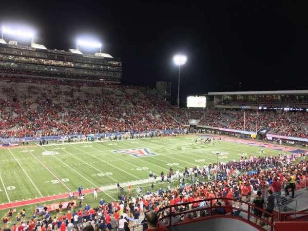 Arizona Stadium, section: 108, row: 44, seat: 7