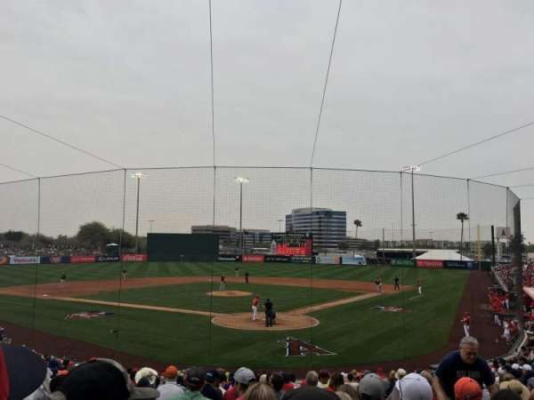 Tempe Diablo Stadium, section: 10, row: Z, seat: 14