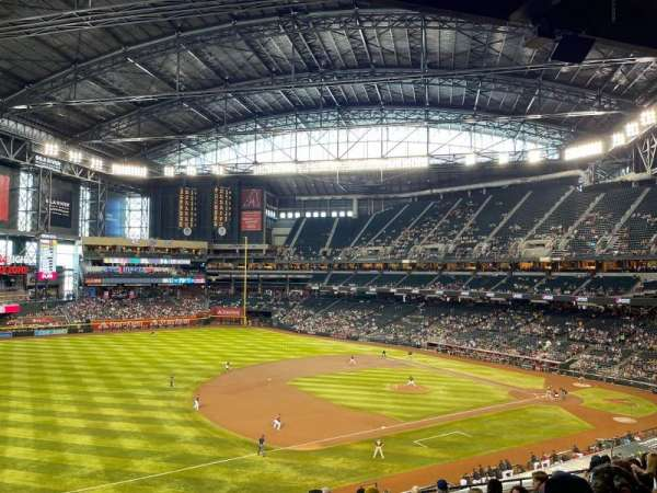 Chase Field, section: 215, row: 10, seat: 18