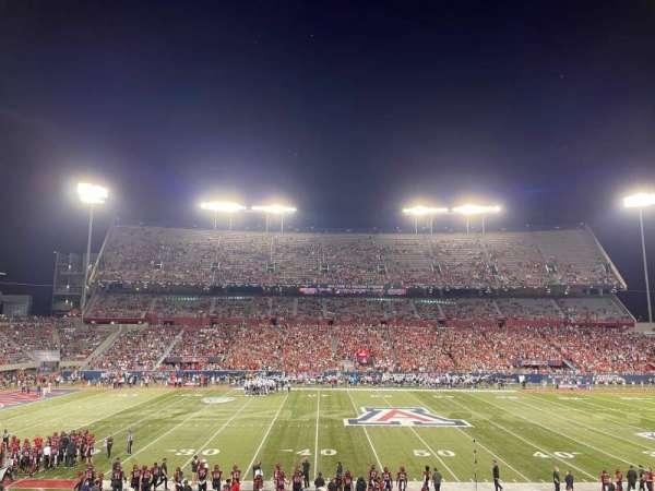 Arizona Stadium, section: 22, row: 31, seat: 1