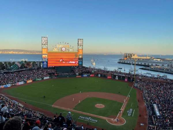 Oracle Park, section: VR319, row: 13, seat: 9