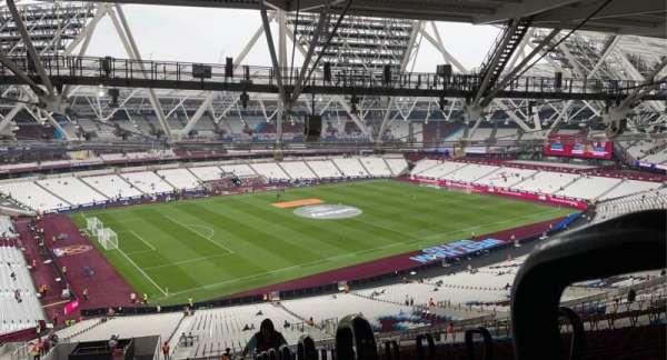 London Stadium, section: 231, row: 70, seat: 590