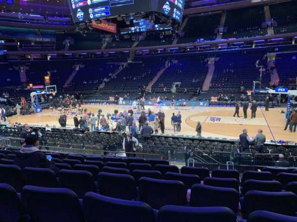 Madison Square Garden, section: 118, row: 11, seat: 12