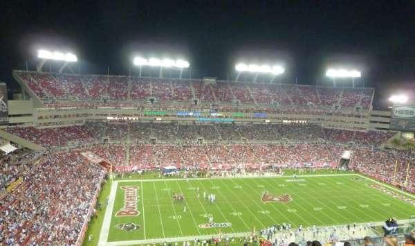 Raymond James Stadium, section: 332, row: M, seat: 8