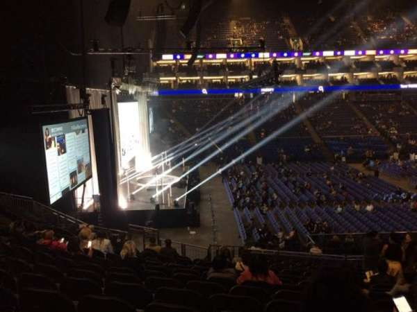 The O2 Arena, section: 118, row: Z, seat: 13