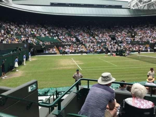 Wimbledon, Court No. 1, section: 14, row: A, seat: 100