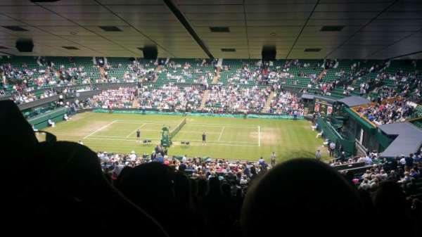 Wimbledon, Centre Court, section: 502, row: ZA, seat: 25