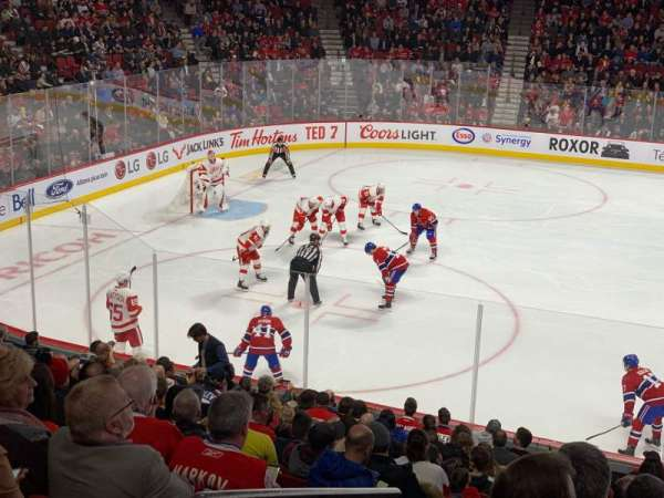 Centre Bell, section: 102, row: K, seat: 14