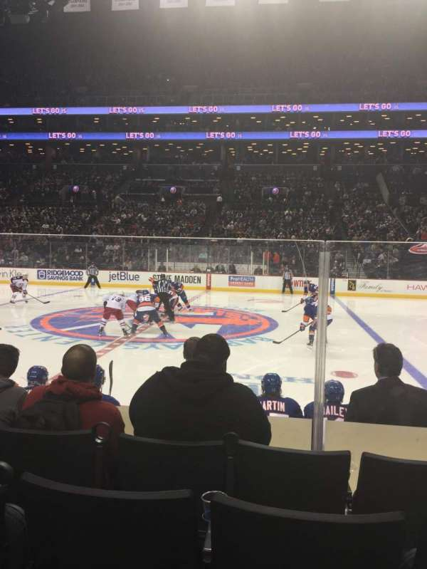 Barclays Center, section: 6, row: 6, seat: 8
