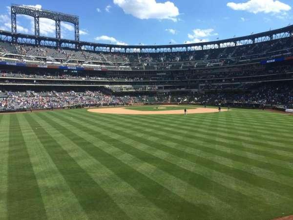 Citi Field, section: 138, row: 1, seat: 8