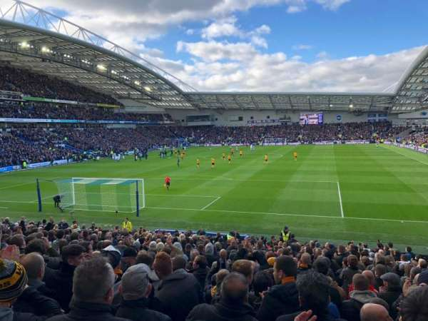 American Express Community Stadium, section: Away Disabled Section