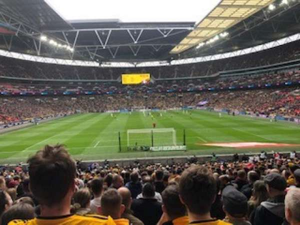 Wembley Stadium, section: 112