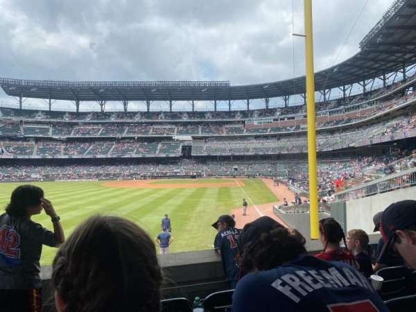 Truist Park, section: 144, row: 12, seat: 8