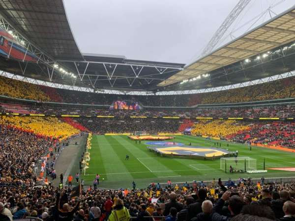 Wembley Stadium, section: 114, row: 40, seat: 68