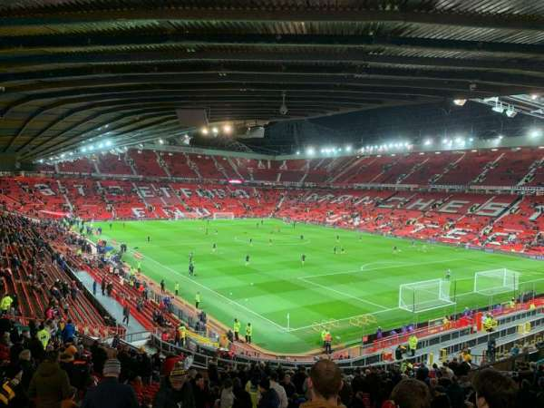 Old Trafford, section: E231, row: 29, seat: 43