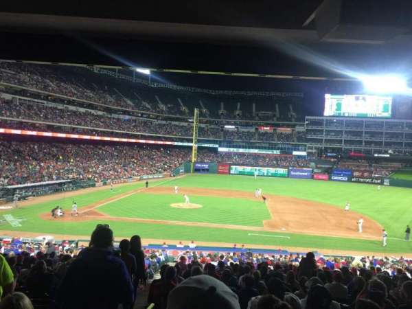Globe Life Park in Arlington, section: 133, row: 35, seat: 1