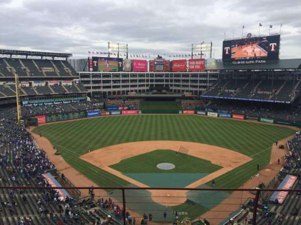 Globe Life Park in Arlington, section: 326, row: 4, seat: 4