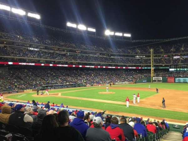 Globe Life Park in Arlington, section: 35, row: 20, seat: 1
