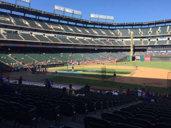 Globe Life Park in Arlington, section: 35, row: 24, seat: 3
