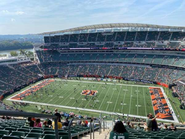 Paul Brown Stadium, section: 337, row: 27, seat: 24