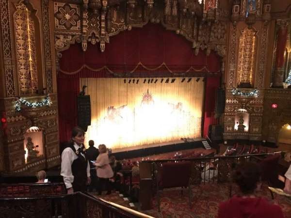 The Fabulous Fox Theatre (St. Louis), section: BA02, row: B, seat: 23