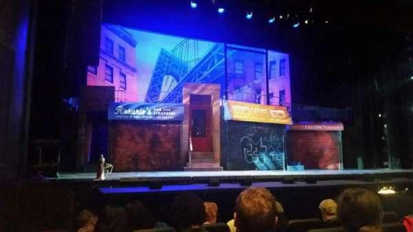 Raleigh Memorial Auditorium, section: B, row: E, seat: 8