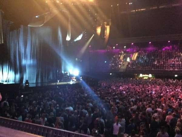 Ziggo Dome, section: 110, row: 1, seat: 367