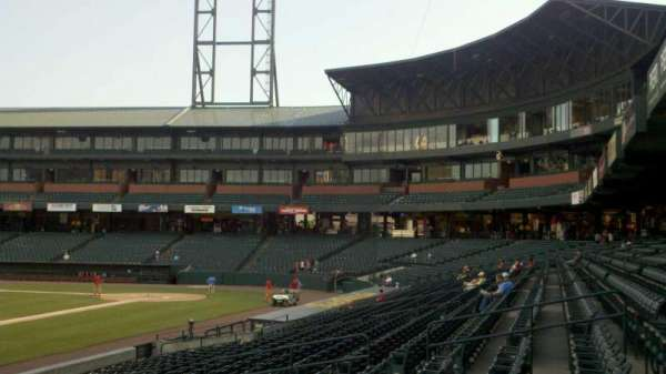Autozone Park, section: 116, row: J, seat: 13