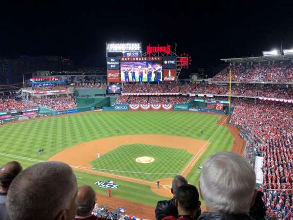 Nationals Park, section: 311, row: D, seat: 1