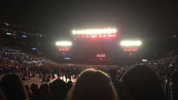Staples Center, section: 105, row: 14, seat: 8 and 9