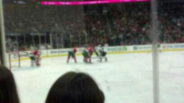 Prudential Center, section: 17, row: 3, seat: 4