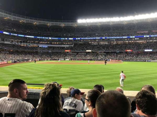 Yankee Stadium, section: 104, row: 5, seat: 22