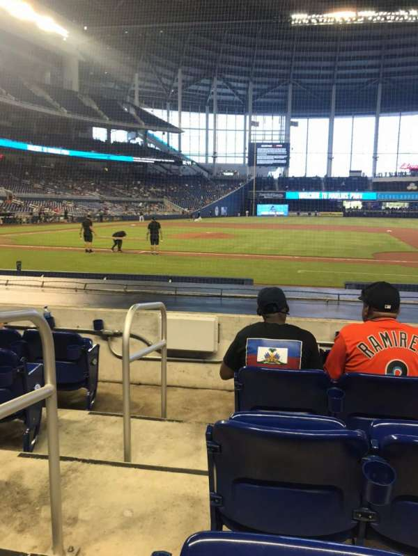 Marlins Park, section: 8, row: D, seat: 18