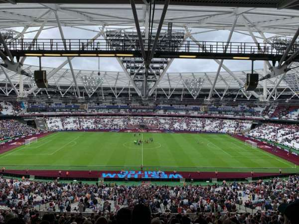 London Stadium, section: 236, row: 67, seat: 424