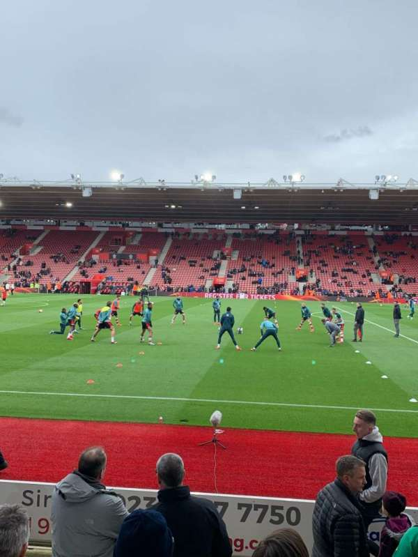 St Mary's Stadium, section: 29, row: G, seat: 0733