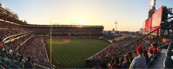 Angel Stadium, section: V436, row: F, seat: 6