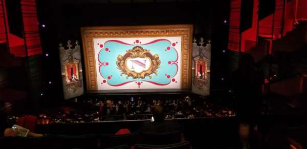 Paramount Theatre (Seattle), section: Mezzanine 14, row: E, seat: 1