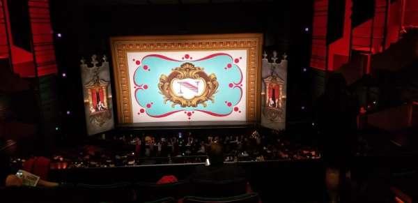 Paramount Theatre (Seattle), section: Mezzanine 14, row: E, seat: 1