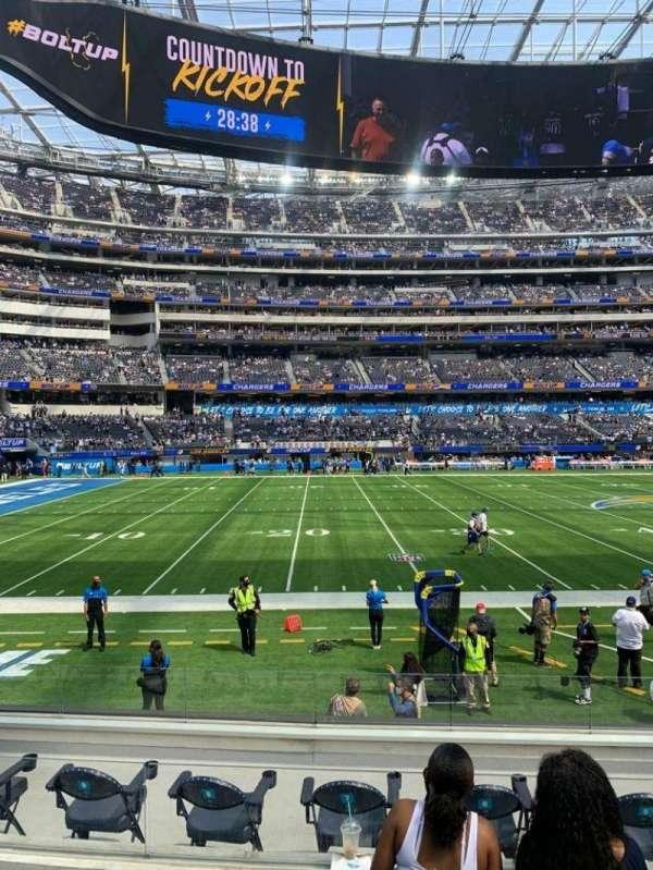 SoFi Stadium, section: C109, row: 7, seat: 3-4