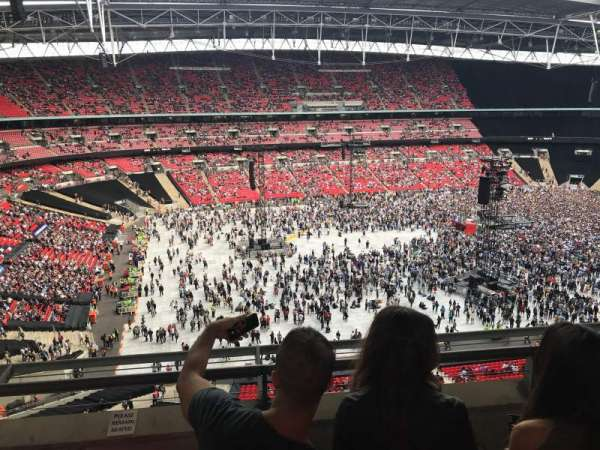 Wembley Stadium, section: 504, row: 3, seat: 120