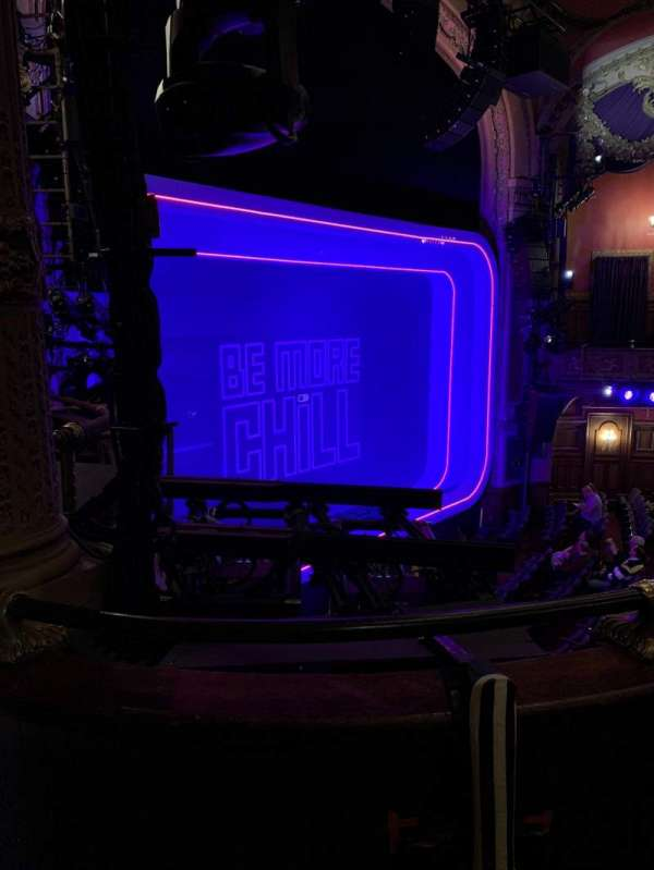 Lyceum Theatre (Broadway), section: Mezzanine L, row: B, seat: 23
