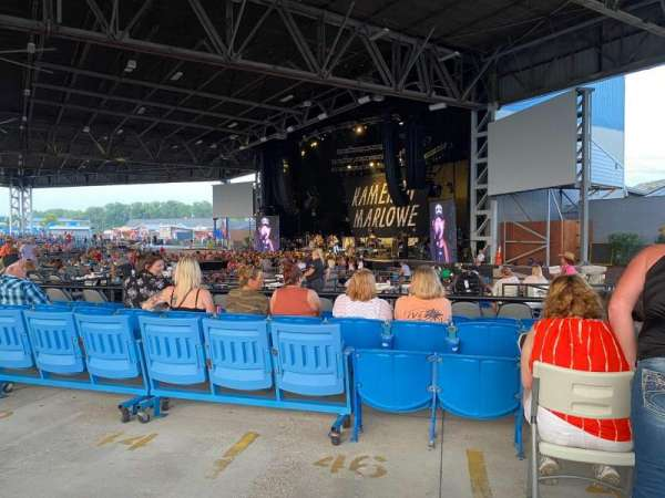 Hollywood Casino Amphitheatre (Maryland Heights), section: Upper Right, row: AA, seat: 28