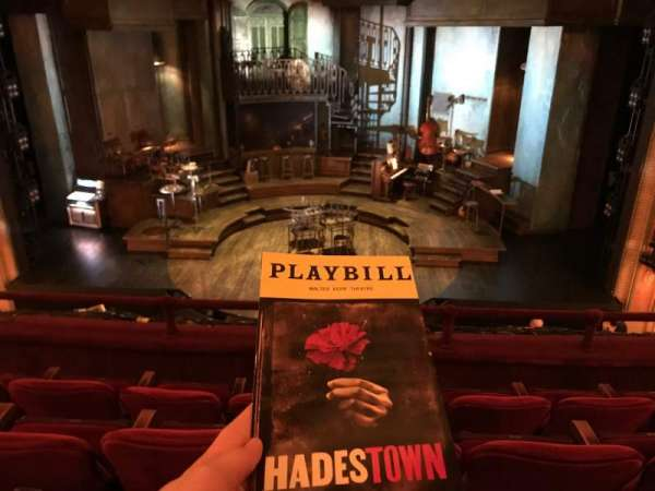 Walter Kerr Theatre, section: Mezzanine C, row: D, seat: 105