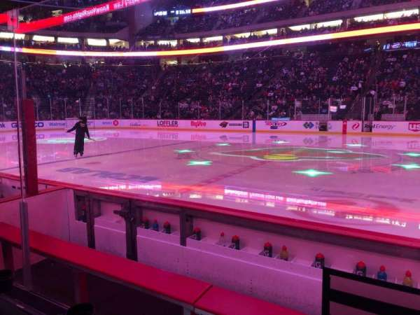 Xcel Energy Center, section: 116, row: 4, seat: 11